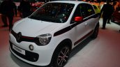 New Renault Twingo front three quarters at Geneva Motor Show