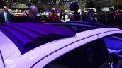 Peugeot 108 convertible fabric top at Geneva Motor Show
