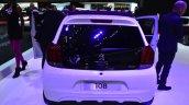 Peugeot 108 convertible rear at Geneva Motor Show