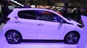 Peugeot 108 convertible side at Geneva Motor Show