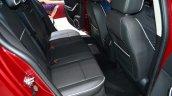 Qoros 3 hatchback rear seats - Geneva Live