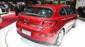 Qoros 3 hatchback rear three quarter - Geneva Live