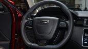 Qoros 3 hatchback steering - Geneva Live