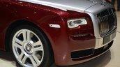 Rolls Royce Ghost Series II front bumper detail - Geneva Live
