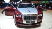 Rolls Royce Ghost Series II front three quarter door open - Geneva Live