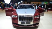 Rolls Royce Ghost Series II front with door open - Geneva Live