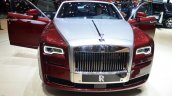 Rolls Royce Ghost Series II front with doors open - Geneva Live