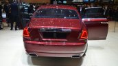 Rolls Royce Ghost Series II rear with doors open - Geneva Live
