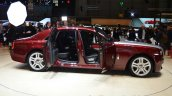 Rolls Royce Ghost Series II side with doors open - Geneva Live
