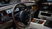Rolls Royce Ghost Series II steering detail - Geneva Live