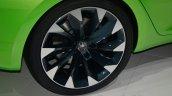 Skoda Vision C concept wheel detail - Geneva Live