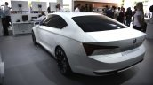 Skoda VisionC rear three quarters at 2014 Goodwood Festival of Speed