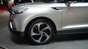 Ssangyong XLV concept front overhang - Geneva Live