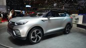 Ssangyong XLV concept front three quarter - Geneva Live