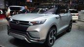 Ssangyong XLV concept front three quarter profile - Geneva Live