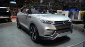 Ssangyong XLV concept front three quarter right - Geneva Live