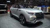Ssangyong XLV concept front three quarter right profile - Geneva Live