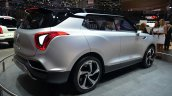 Ssangyong XLV concept rear three quarter right - Geneva Live