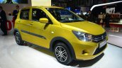 Suzuki Celerio AMT front three quarters at Geneva Motor Show