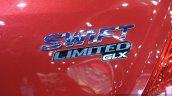 Suzuki Swift Limited GLX badge at 2014 Bangkok Motor Show