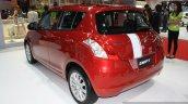 Suzuki Swift Limited GLX rear three quarters left at 2014 Bangkok Motor Show