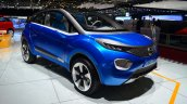 Tata Nexon Concept front three quarters at Geneva
