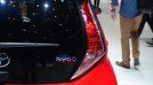 Toyota Aygo taillight - Geneva Live