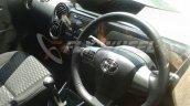 Toyota Etios Cross dealer spied interiors