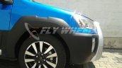 Toyota Etios Cross dealer spied wheel