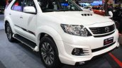 Toyota Fortuner TRD Sportivo at 2014 Bangkok Motor Show front quarter