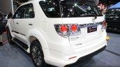 Toyota Fortuner TRD Sportivo at 2014 Bangkok Motor Show rear quarter