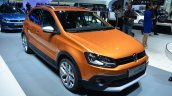 VW CrossPolo front three quarter - Geneva Live