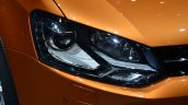 VW CrossPolo headlamp - Geneva Live