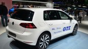 VW Golf GTE rear three quarter - Geneva Live