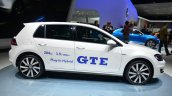 VW Golf GTE side - Geneva Live
