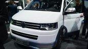VW Multivan Alltrack front quarter