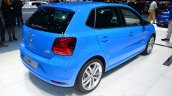 VW Polo TSI BlueMotion rear three quarter - Geneva Live
