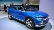 VW T-ROC Concept front three quarters at Geneva Motor Show
