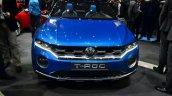 VW T-ROC SUV concept front fascia Geneva live