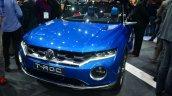 VW T-ROC SUV concept front three quarters Geneva live