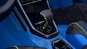 VW T-ROC SUV concept gear shifter Geneva live