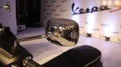 Vespa S Matte Black rear view mirror