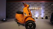 Vespa S Orange front quarter right