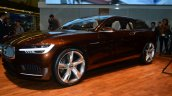 Volvo Concept Estate front three quarter left profile - Geneva Live