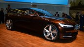 Volvo Concept Estate front three quarter right profile - Geneva Live
