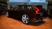Volvo Concept Estate rear three quarter left - Geneva Live