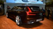 Volvo Concept Estate rear three quarter left profile - Geneva Live