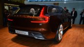 Volvo Concept Estate rear three quarter right - Geneva Live