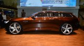 Volvo Concept Estate side - Geneva Live