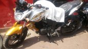 Yamaha FZ-S gold color spied